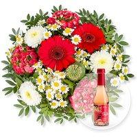 Poesie und Alkoholfreier Erdbeer-Secco