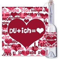 Flaschenpost DU + ich