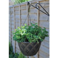 Hanging Basket Lattice with Hanger