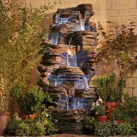 Extra Large Rock Pool Water Feature With Lights