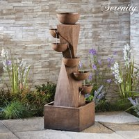 Serenity 6-Tier Bowl Tower Water Feature