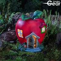 Garden Gear Solar LED Fruit Houses - Apple