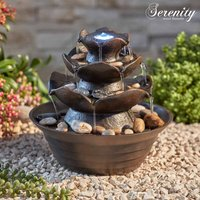 Serenity Table-Top Oriental Water Feature