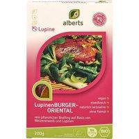 Alberts LUPINEN-BURGER Oriental, BIO, 200g