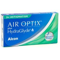 Air Optix Plus Hydraglyde for Astigmatism, 3er Pack