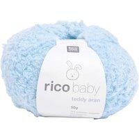 Wolle rico baby teddy aran, 50g, ca. 135m - Hellblau