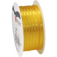 VBS Satinband, 3mm, 10m - Gelb