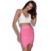 2 Piece Crop Top And Bandage Skirt Set