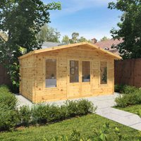 The Silver 5m x 3m Log Cabin
