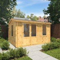 The Juniper 4m x 3m Log Cabin