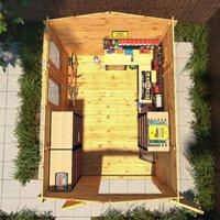 The Odora 4m x 3m Log Cabin