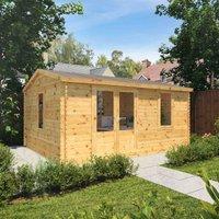 The Juniper 5m x 4m Log Cabin