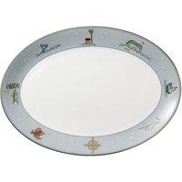Sailors Farewell Oval Platter 35cm