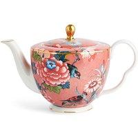 Paeonia Blush Coral Teapot