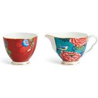 Paeonia Blush Sugar Bowl and Milk / Cream Jug