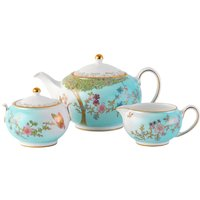 Jade Butterfly Teapot, Sugar and Cream Jug Set, Limited Edition of 10