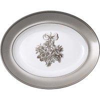 Winter White Oval Platter 35cm