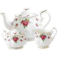 Royal Albert New Country Roses White 3 Piece Set