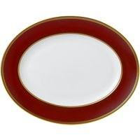 Renaissance Red Oval Platter 35cm