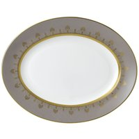 Anthemion Grey Oval Platter 35cm