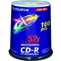 Fujifilm CD-R 700MB - 52x Speed - 100 Discs