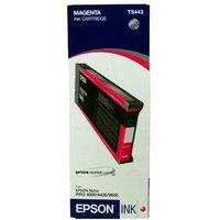 Epson T5443 Magenta 220ml Ink Cartridge