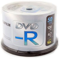 Fujifilm DVD-R 4.7GB - 16x Speed - 50 Discs