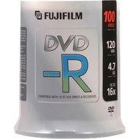 Fujifilm DVD-R 4.7GB - 16x Speed - 100 Discs