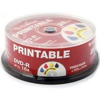 Fujifilm DVD-R Printable InkJet 4.7GB - 16x Speed - 25 Discs