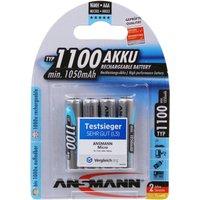 Ansmann 4 x AAA NiMh 1100mAh Batteries