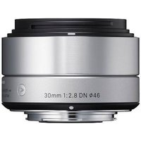 Sigma 30mm f2.8 DN Lens - Sony Fit - Silver