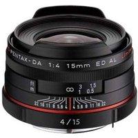 Pentax 15mm f4 DA ED AL Limited Lens - Black