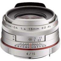 Pentax 15mm f4 DA ED AL Limited Lens - Silver