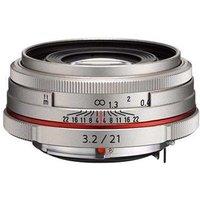 Pentax 21mm f3.2 DA AL Limited Lens - Silver