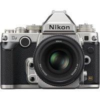 Nikon Df Digital SLR Camera with 50mm Lens - Silver