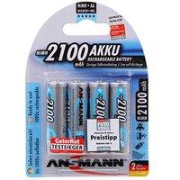Ansmann 4 x AA 2100mAh-Max e Batteries