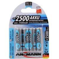 Ansmann 4 x AA 2500mAh-Max e Batteries