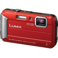 'Panasonic Lumix Dmc-ft30 Digital Camera - Red