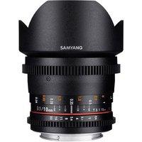 Samyang 10mm T3.1 ED AS NCS CS II Video Lens - Sony E Mount