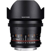 Samyang 10mm T3.1 ED AS NCS CS II Video Lens - Fujifilm Fit