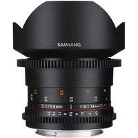 Samyang 14mm T3.1 ED AS IF UMC II VDSLR Lens - Nikon Fit