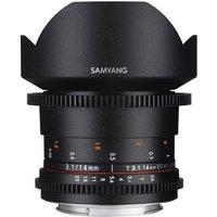 Samyang 14mm T3.1 ED AS IF UMC II VDSLR Lens - Canon Fit