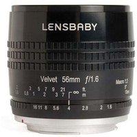 Lensbaby Velvet 56mm f1.6 Lens - Micro Four Thirds Fit - Black