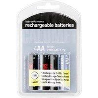 Calumet 4x AA 2700mAh Rechargeable Batteries