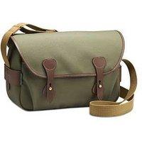 Billingham S4 Shoulder Bag - Sage FibreNyte / Chocolate