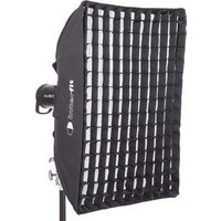 Image of Interfit 60 x 90cm (24 x 36inch) Rectangular Softbox with Grid
