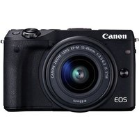 Canon EOS M3 Digital Camera with 15-45mm Lens