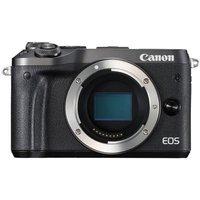 Canon EOS M6 Digital Camera Body - Black