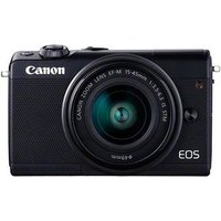 Canon EOS M100 Digital Camera + 15-45 Limited Edition Black