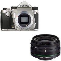 Pentax KP Digital Camera with 18-50mm Lens - Silver
